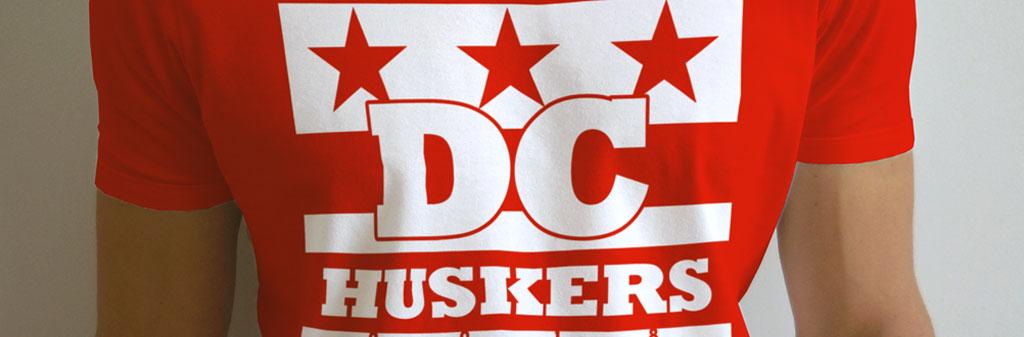 DC Huskers Tshirts